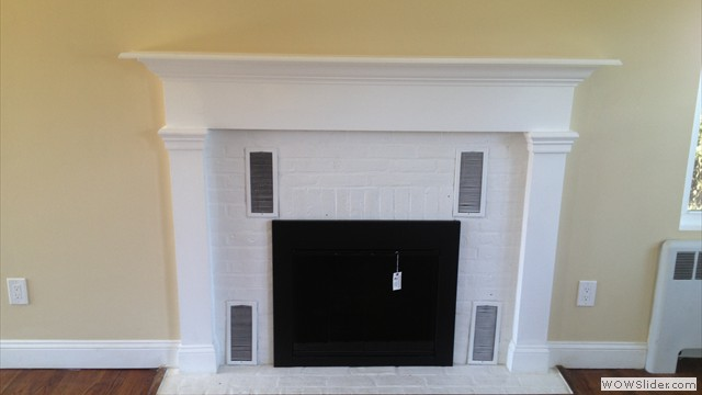 Custom Built Mantel By Bruno Brothers Design & Development & Palermo Flooring Sand & Refinishing Of Floors 3 Coats Waterbase Bona High Traffic