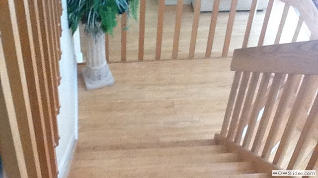 Installation Of Bamboo Replacement Treads East Setauket, New York