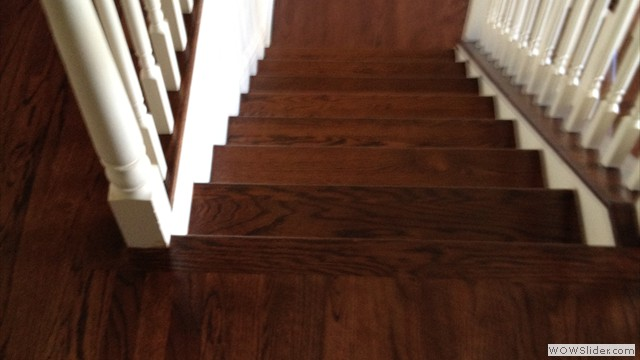 Sand & Refinishing Of Staircase & Railings